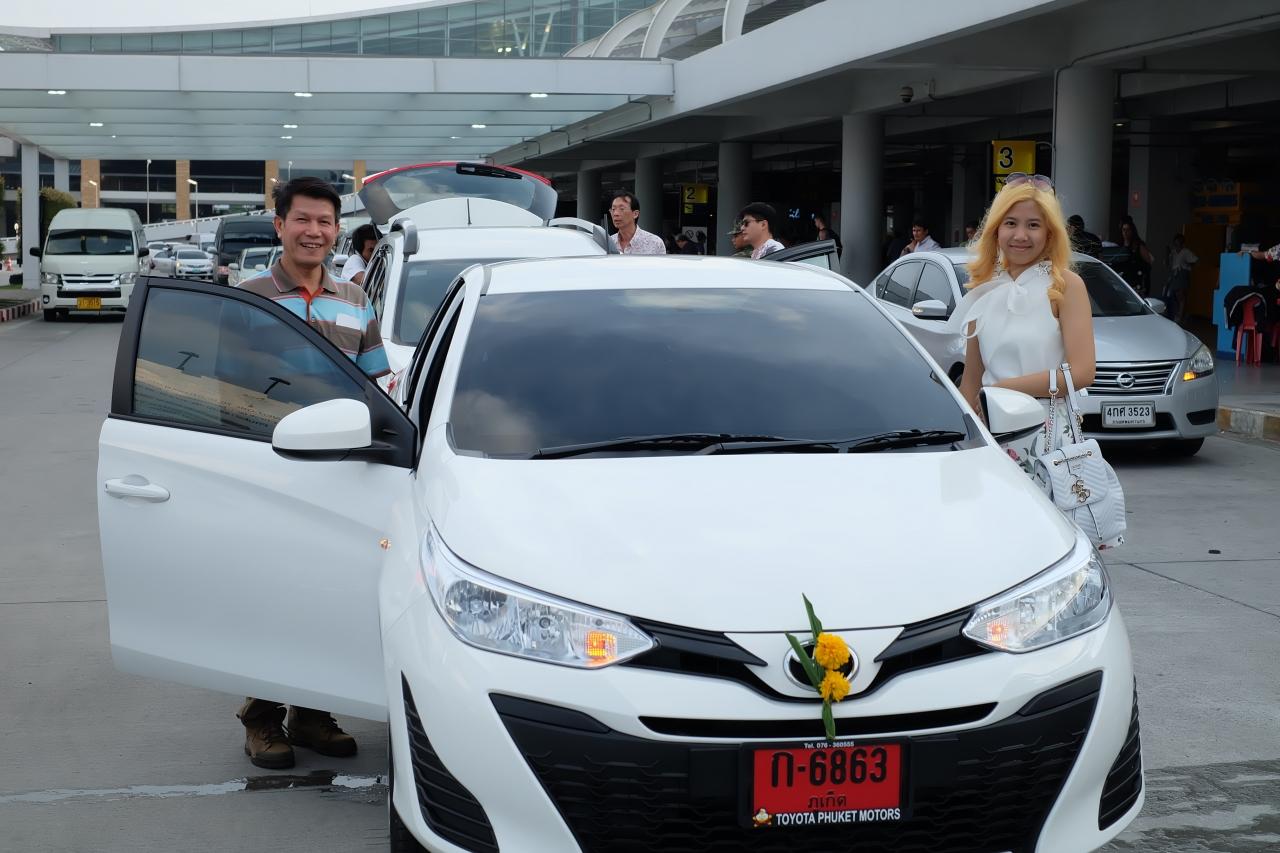 เปิดบริสุทธิ์ !!  ลูกค้าถามว่าได้รถใหม่ไหมคะ  บอกลูกค้าตรงๆเลย คันนี้ยังบริสุทธิ์ คุณคือทีมแรก OKAYcarrent.com #รถเช่าภูเก็ต ที่เอาใจลูกค้าเก่งที่สุด